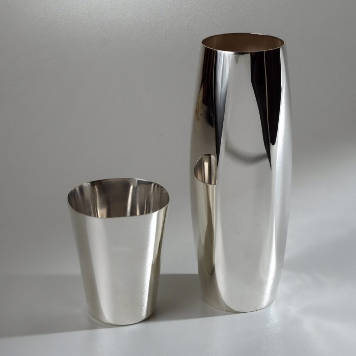 Vase et Timbale Silver